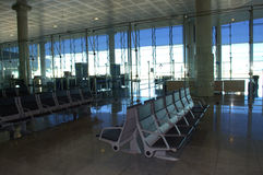 Airport empty waiting room Stock Photography