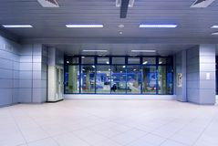 Airport entrance Stock Photos