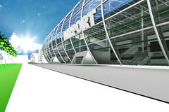 Airport Entry Royalty Free Stock Images
