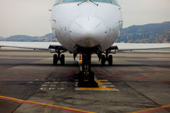 Airport Equipment. Front of Jet Stock Photos