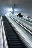 Airport Escalator Stock Photography