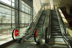 Airport escalator Stock Photography