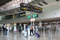 An Airport in Europe Stock Photography