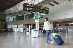 An Airport in Europe Royalty Free Stock Photos