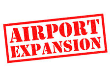 AIRPORT EXPANSION Stock Photography