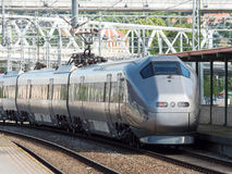 Airport express train in Oslo Royalty Free Stock Photography