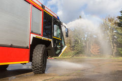 Airport fire truck Stock Images