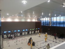 Airport of Florence, Tuscany, Italy Royalty Free Stock Photography