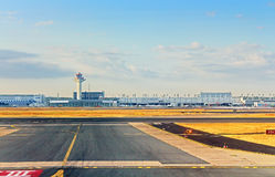 Airport in Frankfurt, Germany Royalty Free Stock Image