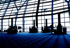 Airport Free Internet. Shanghai Pudong airport, free internet area stock photos