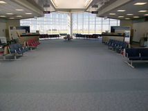 Airport Gate Area royalty free stock photos