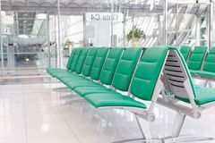 Airport gate Royalty Free Stock Image