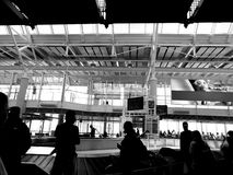 Airport in Germany Stock Photo
