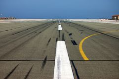 Airport in Gibraltar Royalty Free Stock Photography