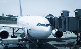 Airport ground crew service Stock Photography
