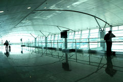 Airport Hall Stock Images