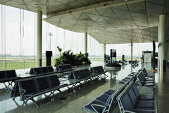 Airport hall Royalty Free Stock Photo