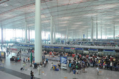 Airport hall Royalty Free Stock Photography