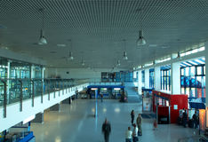 Airport hall. Of the european style Stock Photography