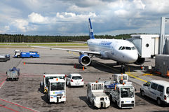 Airport Helsinki Royalty Free Stock Photos