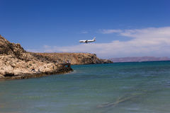 The airport heraklion Royalty Free Stock Image