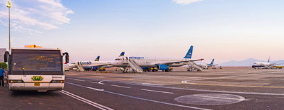 The airport of Hurghada Royalty Free Stock Image