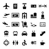Airport Icon stock illustration