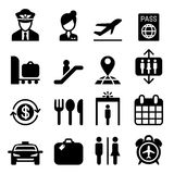 Airport icon Stock Image