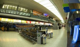 Airport in Innsbruck - Check in Royalty Free Stock Photo