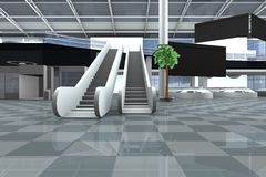 Airport inside Royalty Free Stock Image
