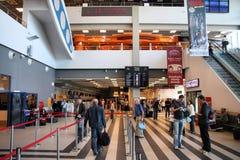 Airport interior Royalty Free Stock Photo
