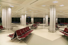 Airport Interior. The main lodge of the airport of Doha Stock Photography