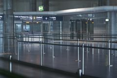 Airport interior Royalty Free Stock Photos