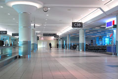 Airport interior Royalty Free Stock Photography