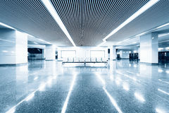 The airport interior Royalty Free Stock Images