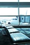 Airport interior Stock Images