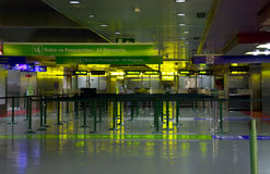 Airport interior Stock Image
