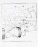 Airport interior Stock Photo