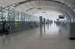 Airport interior in Bangkok Stock Photo