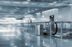 Airport interior. Royalty Free Stock Photography
