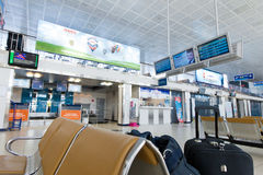Airport interior Royalty Free Stock Image