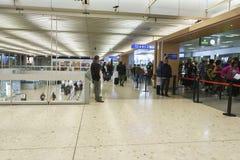 Airport interior in Geneva Royalty Free Stock Photos