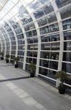 Airport Interior, Hong Kong. Bright Modern Airport Interior, Architecture in Hong Kong, China Stock Images