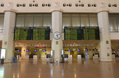 Airport interior - Malaga Royalty Free Stock Photo