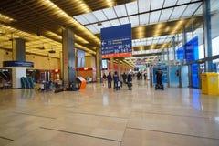 Airport interior Stock Image