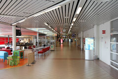 Airport interior in Sweden Royalty Free Stock Image
