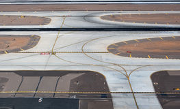 Airport Intersection Royalty Free Stock Images