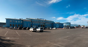 Airport in Irkutsk Royalty Free Stock Images