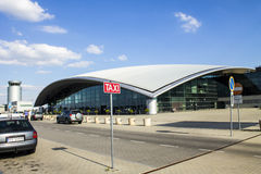 Airport Jasionka Stock Image