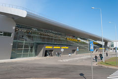 Airport Kazan Stock Images